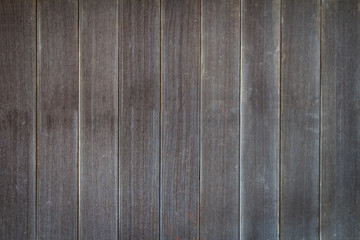 Abstract surface wood table texture background. Close up of dark rustic wall made of old wood table planks texture. Rustic brown wood table texture background empty template for your design.