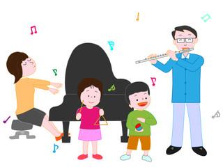 家族のコンサート