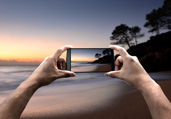 taking landscape photography with the smartphone