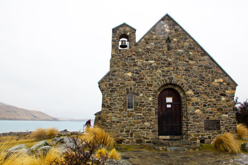 Shepherd church at Lake Tekapo