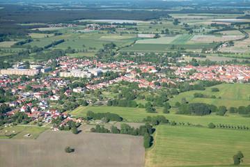 Spargelstadt Beelitz - Luftbild