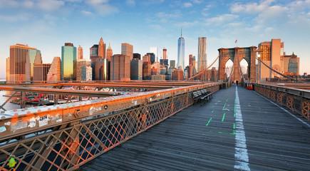 New York, Brooklyn bridge, United Statef of America