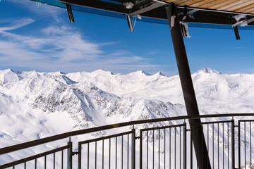 Ötztaler Alpen Winterlandschaft, Hochgurgl, Sölden, Tirol