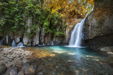 Vera waterfall at Luzon island,Philippines