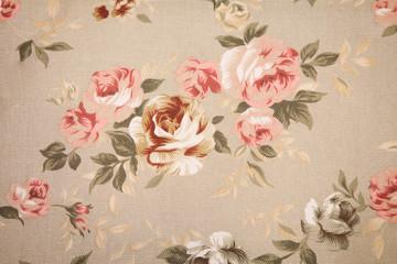 Papiers peints Fleurs Vintage Vintage floral fabric