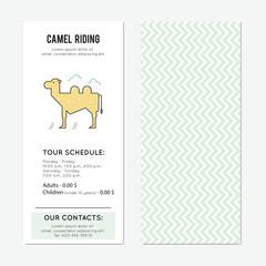 Camel vertical banner
