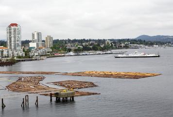 Logging Operation in Nanaimo