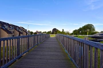 Elgin - Fußgängerbrücke über River Lossie