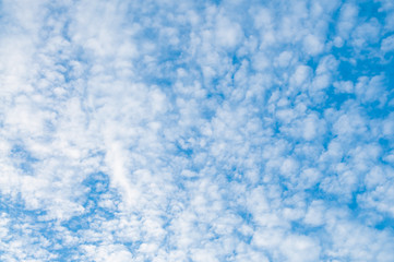 Blue sky and cloud.background