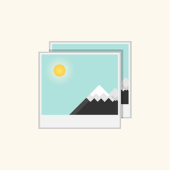 image flat icon