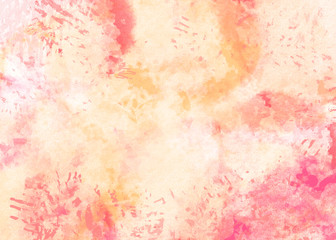 Watercolor abstract background. Digital painting.