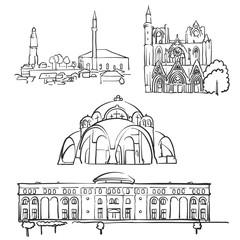 Skopje, Macedonia, Famous Buildings