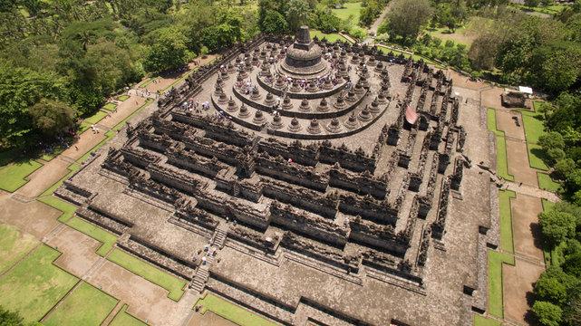 borobudur and prambanan temple