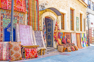 Autocollant pour porte Turquie The carpets in Antalya
