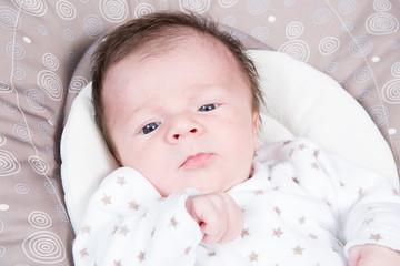 a cute new born baby
