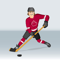 Canadian ice hockey player