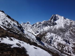 Goseikunda lake, Himalyas, Nepal