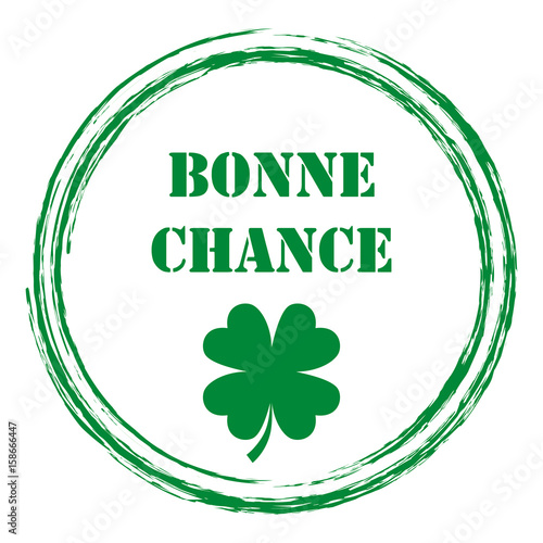 "Image Bonne Chance logo bonne chance."" stock image and royalty-free vector files on"