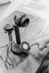 Antique Candlestick Telephone