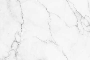 .White marble texture with natural pattern for background