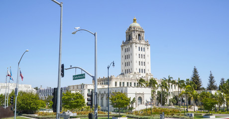 Beverly Hills City Hall - LOS ANGELES - CALIFORNIA - APRIL 20, 2017