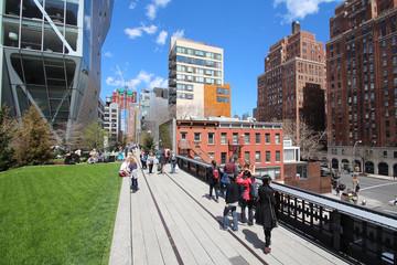 High Line Walkway / New York City - USA