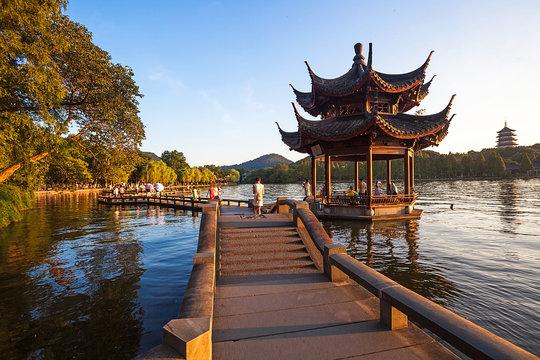 Hangzhou West Lake of Zhejiang Province,China