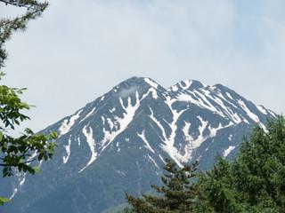日本のアルプス山脈