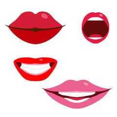 Women's lips