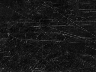 Black old scratched surface background Wall mural