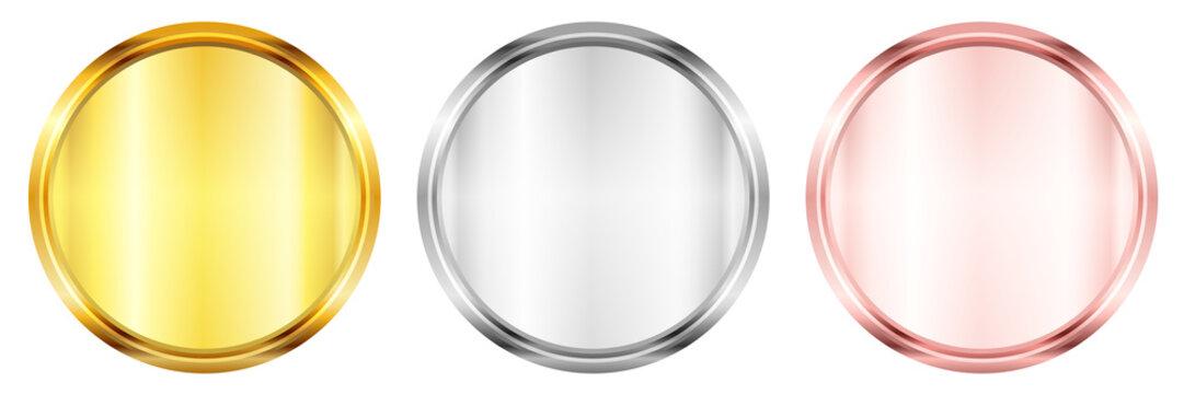 メダル コイン 金 アイコン
