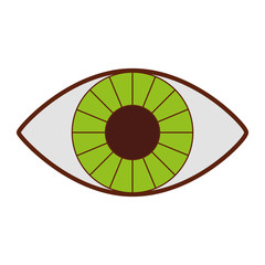 eye human isolated icon vector illustration design