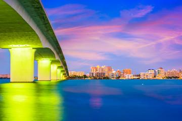 Sarasota, Florida, USA Skyline.
