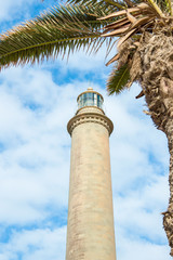 Lighthouse in Maspalomas, Gran Canaria, Spain, Canary Islands