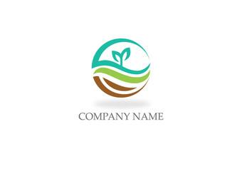 organic seed nature environment logo