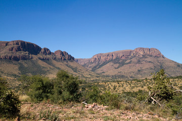 Canvas Prints South Africa canyons of the marakele national park in south africa