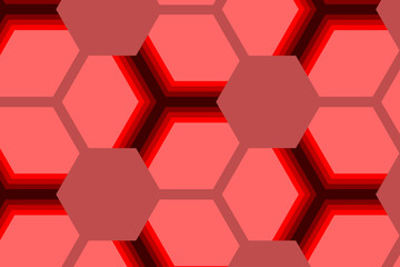 red abstract polygon art wallpaper background.vector and illustration