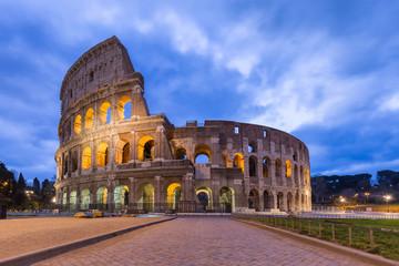 Tuinposter Oude gebouw Colosseum Rome