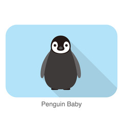 Penguin baby standing, Penguin seed series