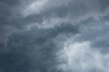 dark storm clouds for background