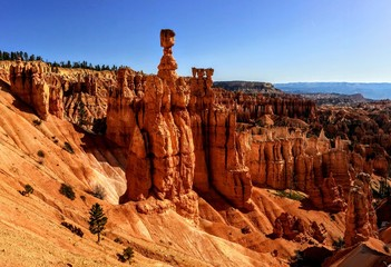 Bryce Canyon National Park, Amphitheater hoodoos, Utah, United States of America