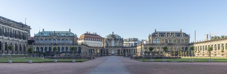 Dresden, Zentrum, Zwinger, Panorama