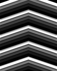 Monochrmatic Retro Chevron Stripes Background