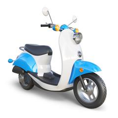 Retro classic scooter