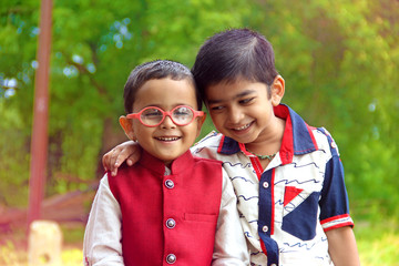 Two indian child