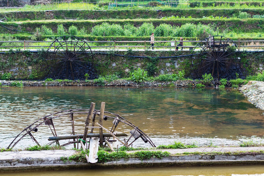 irrigation system in Chengyang village