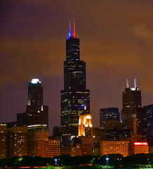 Fotomurales - Chicago on July 4th