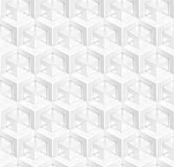 Abstract seamless texture of geometrical elements. Hexagonal pattern.