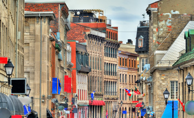 Buildings in Old Montreal, Canada