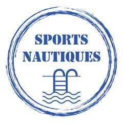Logo sports aquatiques.